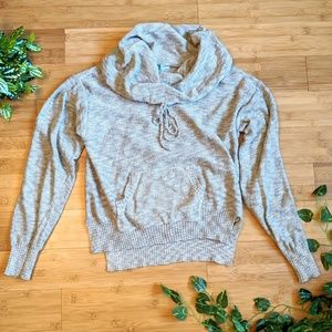 Maurices tan cowl neck sweater